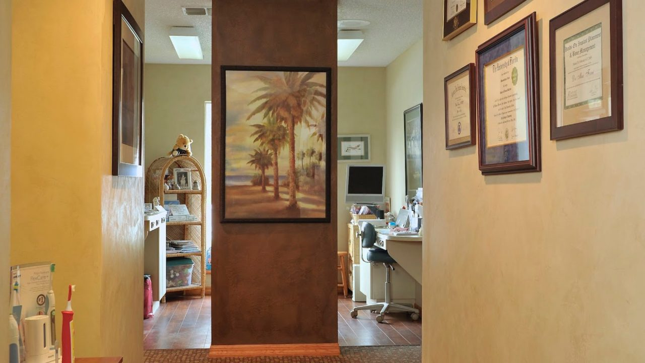 Dental exam rooms