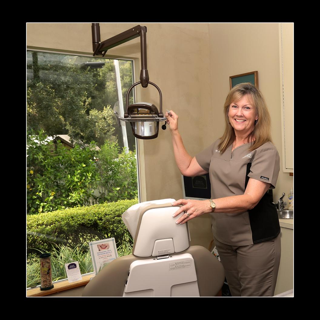 Team member in dental office